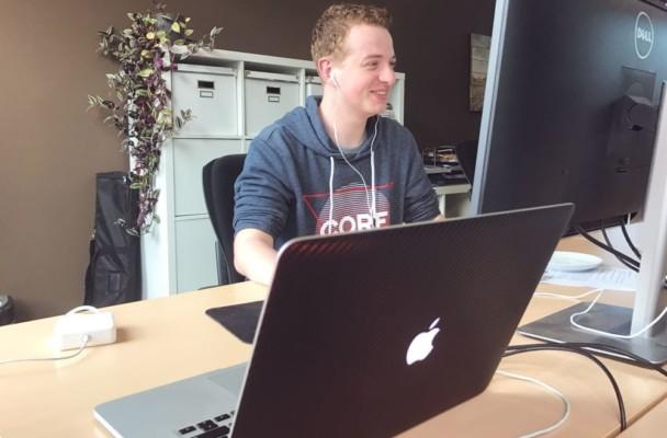 Van student-developer naar een fulltime job!