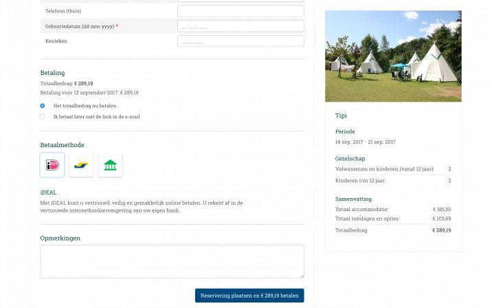 Online Reserveringssysteem Online Betalen