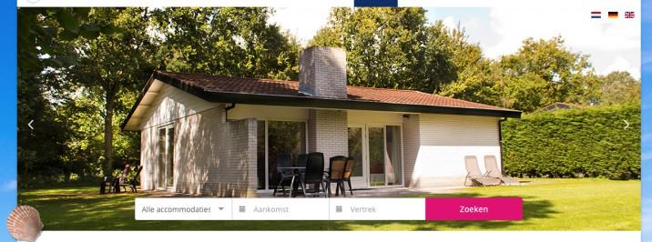 Online reserveringssysteem zoek en boek vakantiepark reserveringssysteem