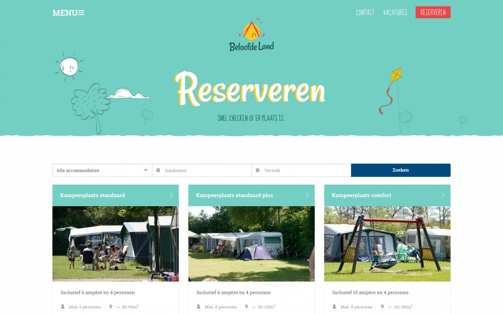 Online Reserveringssysteem Integratie Website