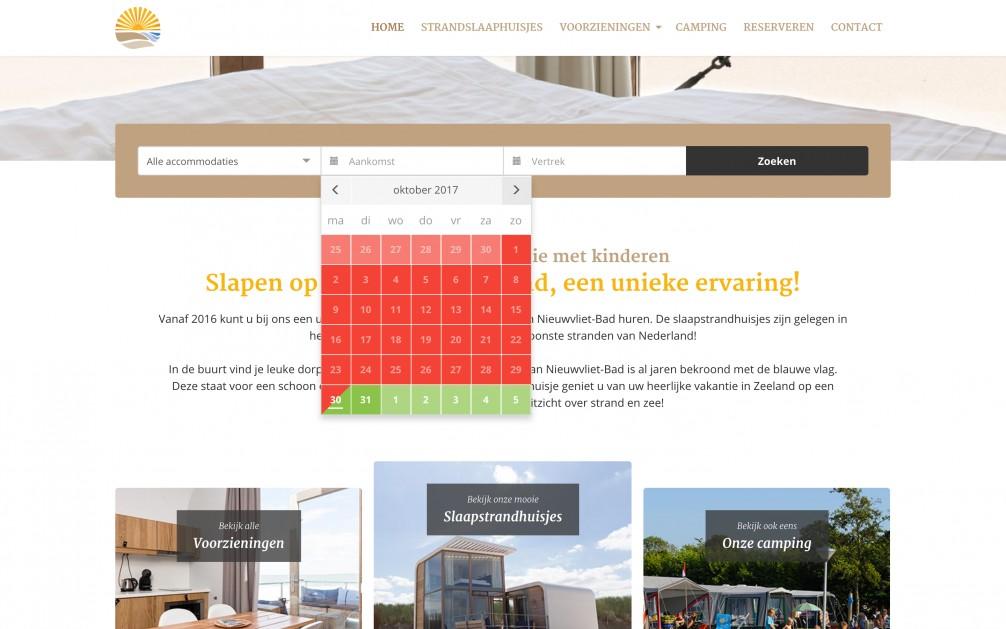 Online Reserveringssysteem Website Integratie Huisjes