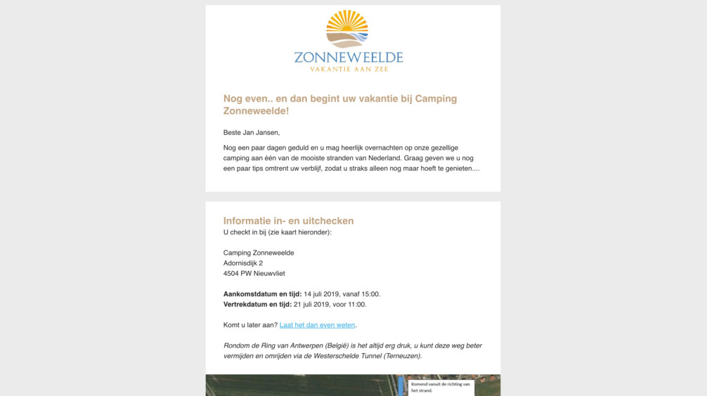 Online Reserveringssysteem Geautomatiseerde Emails