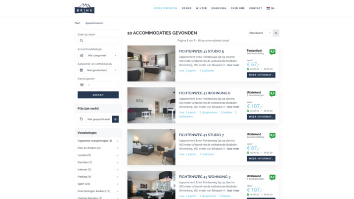 Online reserveringssysteem reserveringsysteem zoek en boek appartementen