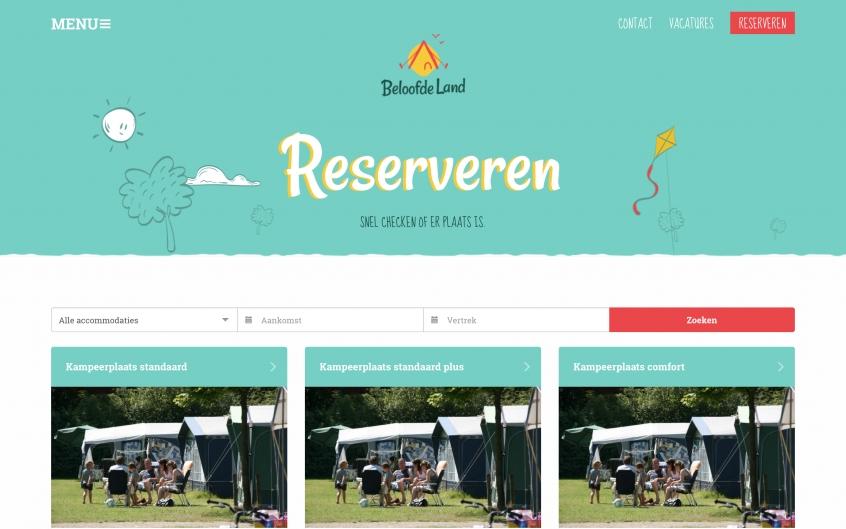 Beloofde Land Screenshot Reserveren